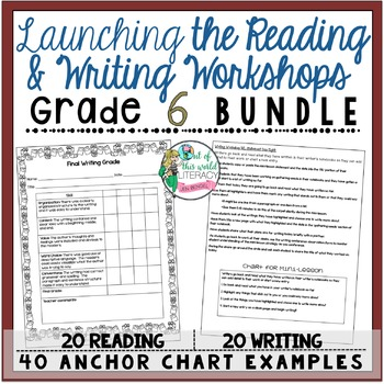 Grade 6 Launching the Reading and Writing Workshops