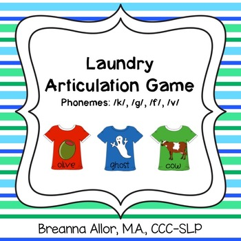 Laundry Articulation Game
