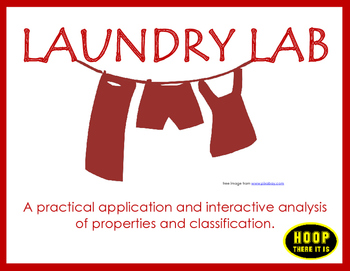 Properties of Matter Laundry Lab