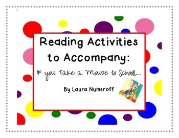 Laura Numeroff Activity Packet(s)!