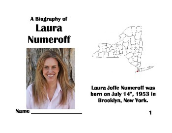Laura Numeroff Biography: Author Study