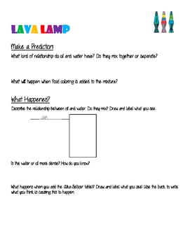 Lava Lamp Data Sheet
