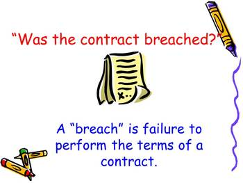 Law of Contracts Lesson Two