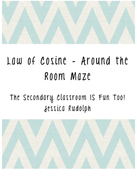 Law of Cosine Around the Room Maze