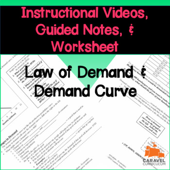 Law of Demand and Demand Curve Instructional Videos and Gu
