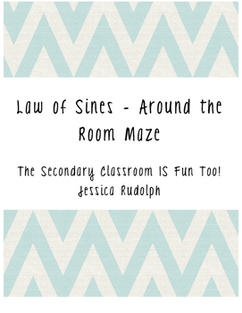 Law of Sines Around the Room Maze