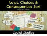 Laws and Consequences Sort [Google Drive Version]