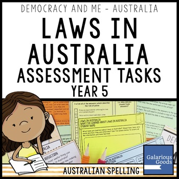 Laws in Australia Assessment (Year 5 HASS)