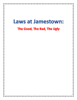 Laws of Jamestown
