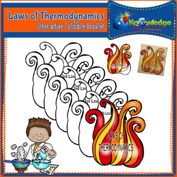 Laws of Thermodynamics Interactive Foldable Booklet