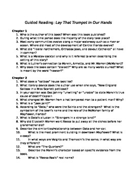 Lay That Trumpet In Our Hands Guided Reading