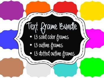 FRAMES - Layered Bundle - Personal & Commercial use