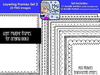 Layering Frames Set 2