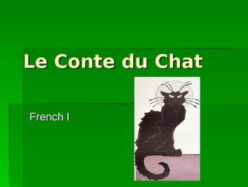 Le Conte du Chat.  A TPR mini-story