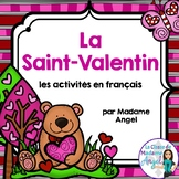 La Saint Valentin - Valentine's Day Literacy Centers in French