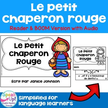 Le Petit Chaperon Rouge Simplified French Little Red Ridin
