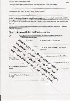 Le Petit Prince Complete Unit: French