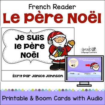 Le Père Noël French Christmas Santa Reader {livre en franç