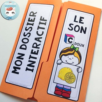Le Son C doux - French Phonics Lapbook