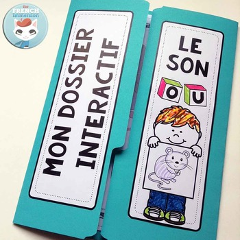 Le Son OU - French Phonics Lapbook