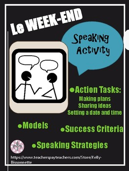 Le Weekend - Speaking Activity - Action Oriented Task