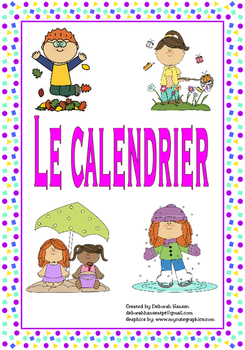 French- The Calendar (days of the week and months of the year)