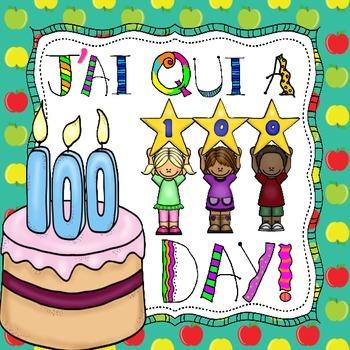 Le centième jour d'école - J'ai Qui A (Jeu) - French 100th