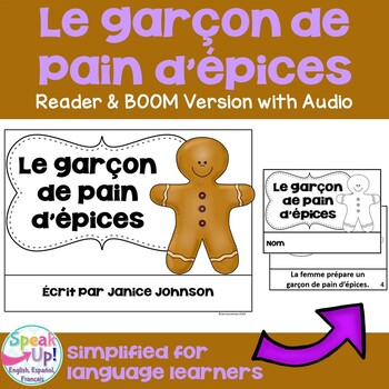 Le garçon de pain d'épices ~ Simplified French Gingerbread