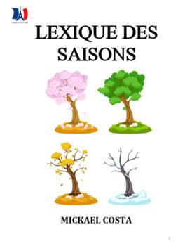 Le lexique des saisons