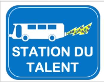 Le panneau de signalisation (School Road Sign)