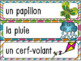 Printemps - vocabulaire FREEBIE - French words for Spring