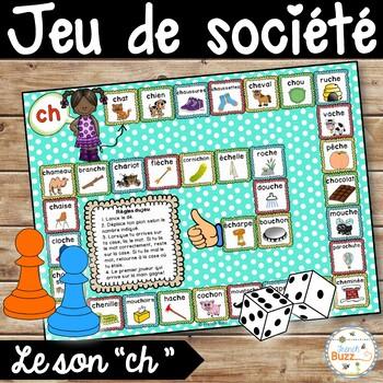 """Le son """"ch"""" - jeu de société"""