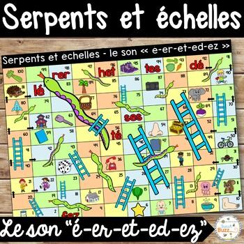 """Le son """"é-er-et-ez-ed"""" - Serpents et échelles"""