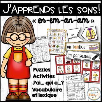 """Le son """"en"""", """"em"""", """"an"""", """"am"""" - jeux et activités"""