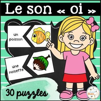 """Le son """"oi"""" - 30 puzzles"""