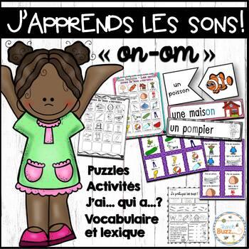 """Le son """"on-om"""" - jeux et activités"""