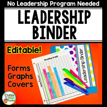 Leadership Notebook and Student Data Binder