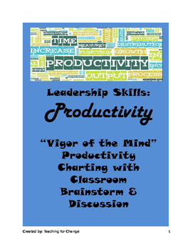 Leadership Skills: Time Management and Productivity Charti