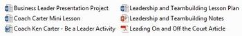 Leadership and Teambuilding Unit Plan