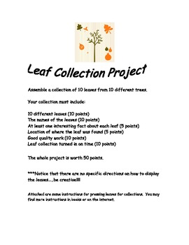 Leaf Collection Instructions