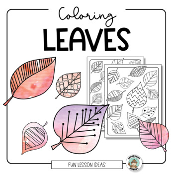 Fall Activity: Leaf Coloring Sheet