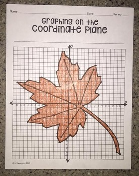 Leaf (Graphing on the Coordinate Plane)