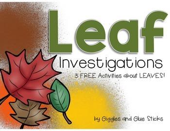 Leaf Investigation Freebie