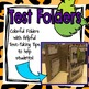 Leaf Me Alone! Test Folders with Test-Taking Tips!