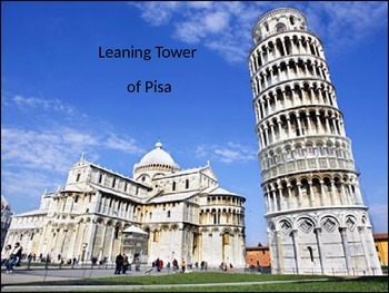 Leaning Tower of Pisa - Power Point - History Structure Fa