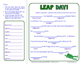 Leap Day Mad Lib