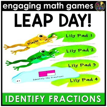 Leap Day Identify Fractions (Pictures Version)