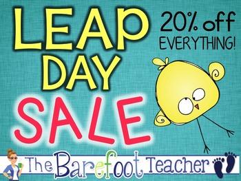 Leap Day Sale!