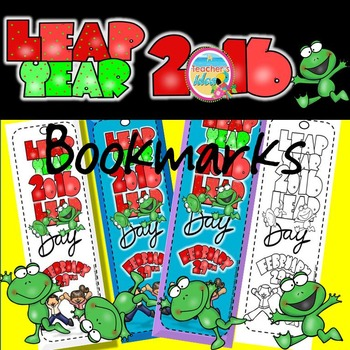 Leap Year Bookmarks