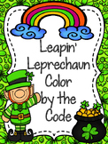 Leapin Leprechaun Color by the Code